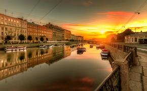 Wallpaper Russia, Fontanka, Saint Petersburg