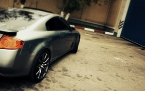 Picture machine, autumn, large disks, beautiful drives, g35 coupe, ifiniti