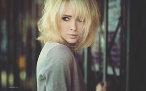 Picture look, girl, model, blonde, Alysha Nett