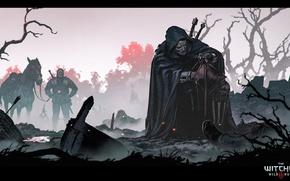 Picture the witcher, the Witcher, the witcher 3 wild hunt