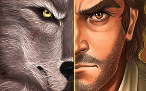 Picture look, wolf, The Wolf Among Us, Bigby, fables, the separation of the individual