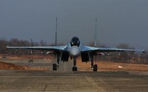 Picture fighter, Su-35, jet, multipurpose