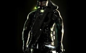 Wallpaper weapons, chaos theory, splinter cell, knife