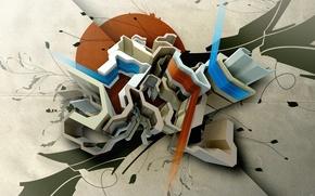 Wallpaper Graphics, Fusion, Figure