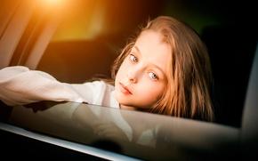 Picture look, girl, bokeh, Serg Piltnik, Lives Everywhere Beauty