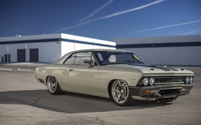 Picture Chevrolet, Chevelle, Custom 1966