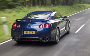 Picture blue, R35, Nissan GTR, RE THE GTR