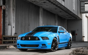 Picture mustang, ford, 302, boss, forgiato