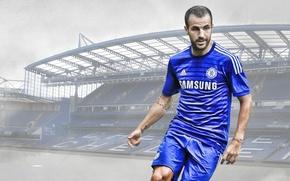 Picture wallpaper, sport, stadium, football, Stamford Bridge, player, Chelsea FC, Cesc Fabregas