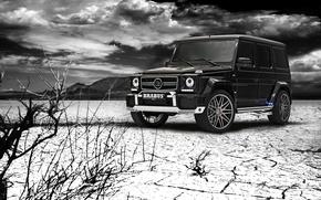 Picture Mercedes-Benz, Brabus, Design, AMG, Black, Tuning, G63