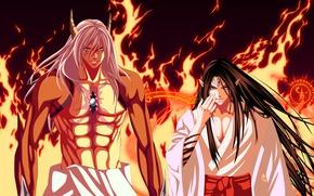 Picture fire, flame, game, seal, anime, man, fight, Magic, evil, asian, manga, japanese, kimono, oriental, asiatic, …