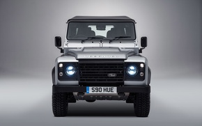 Picture silver, Land Rover, Defender, 2015, Special Model