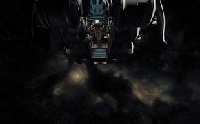 Picture flight, starship, Star Citizen, Starfarer