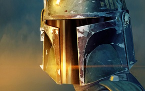 Wallpaper helmet, star wars, Jango Fett