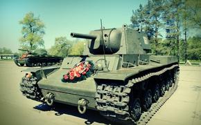 Picture tank, Soviet, KV-1, Klim Voroshilov, heavy