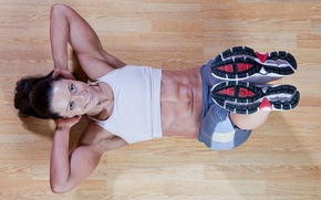 Picture exercise, pose, fitness, abs