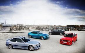 Picture BMW, E92, E46, E30, E36