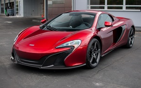 Picture Red, mclaren, Spider, Volcano, 650S