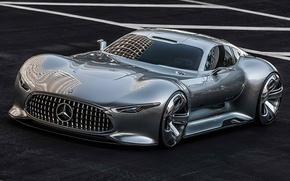 Picture Mercedes-Benz, concept, Vision, gran turismo, AMG