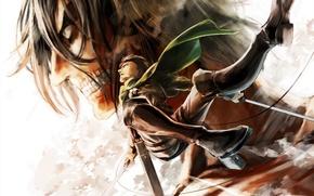 Picture anime, art, couples, guy, the battle, shingeki no kyojin, rivaille, gloria, otani, the invasion of …