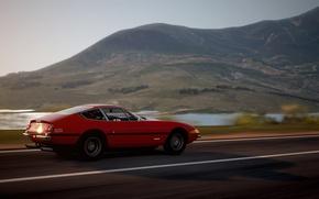 Picture The game, Ferrari, 1971, Ferrari, Turismo, GTB, 365, Gran, Daytona, Daytona, GTB/4, Grand, Turismo