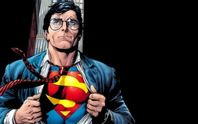 Wallpaper men, comics, costume, art, artworks, fantasy art, superhero, fantasy, Superman, DC Comics, Clark Kent