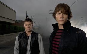 Wallpaper Sam, Dean, Jared padalecki, actor, Jensen Ackles, dean winchester, Dean Winchester, over the padalecki jared, ...