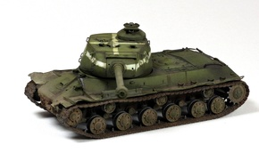 Picture toy, tank, The is-2, heavy, Soviet, Joseph Stalin, model