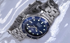 Picture watch, Omega, watch, Seamaster, James Bond