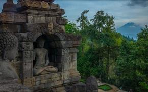 Picture nature, Indonesia, Java, Buddha