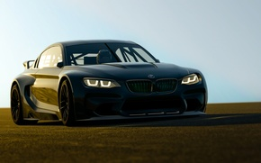 Picture rendering, background, BMW, the front