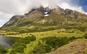 Picture landscape, mountains, nature, Park, photo, Chile, Torres Del Paine