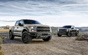 Wallpaper pickup, Ford, F-150, Raptor, Raptor, Ford