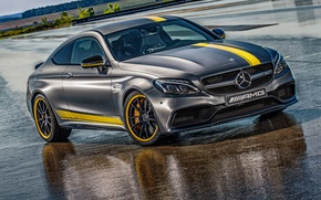 Picture Mercedes-Benz, AMG, Coupe, DTM, AMG, C 63, 2014, C-Class, C205, Mercedes