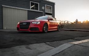 Wallpaper Audi, RS5, Vossen, Wheels, The dealership, Boden