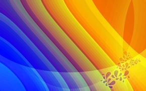 Picture abstraction, patterns, paint, colors, lines, patterns, lines, abstraction, 2560x1600