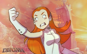 Picture Deponia, Deponia, The threat, Anger, Goal