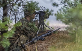 Picture weapon, sniper, Canadian Armed Forces