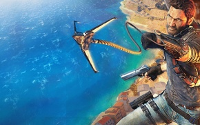 Picture Square Enix, Just Cause 3, Avalanche Studios, Hook