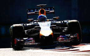 Picture Formula 1, Red Bull, Vettel, The reflection