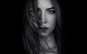 Picture look, portrait, Olga, natural light