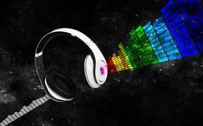 Picture headphones, beats, dr. dre