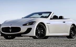 Picture Maserati, Machine, White, Desktop, Maserati, Car, Car, Beautiful, White, Wallpapers, Beautiful, Wallpaper, Automobiles, The front, …