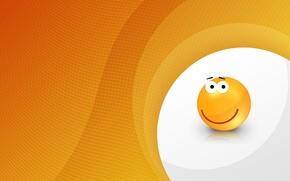 Picture orange, smile