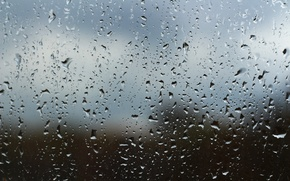 Picture drops, background, rain, window