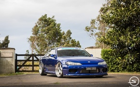Picture tuning, nissan, turbo, blue, japan, Nissan, blue, jdm, tuning, silvia, s15, low, Sylvia, datsun, low.stance