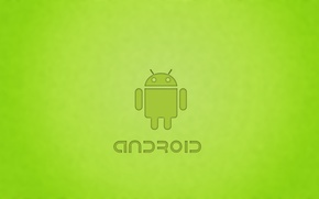 Wallpaper robot, Android, android