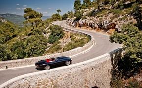 Picture Jaguar, Black, Black, E-Tour, Jaguar XK E-Tour