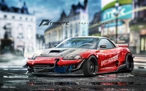 Picture mitsubishi, nfs, speedhunters, 3000gt, yasiddesign
