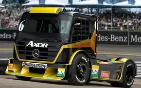 Picture truck, mercedes-benz, Mercedes, the front, truck, axor formula, racing car